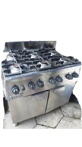 Zanussi GAS  6 Burner Cooker With Oven