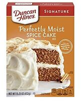 Spice Cake - Duncan Hines Signature Perfectly Moist Spice Cake Mix 15.25 oz