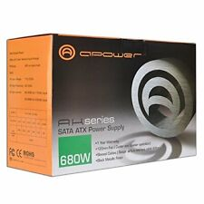 A-Power AK 680 watt 20+4-pin ATX PC COMPUTER Power Supply w/ SATA & PCIe - NEW