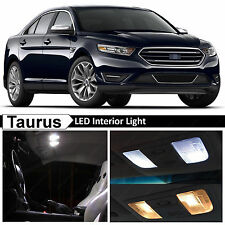 11x White Interior LED Lights Package Kit for 2010-2015 Ford Taurus