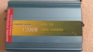 1200 watt grid tie invert  28v to 55 v