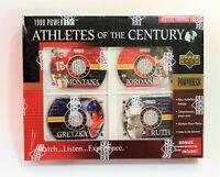 1999 Upper Deck Michael Jordan PowerDeck Athletes of Century New & Sealed Set