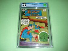 Action Comics #262 CGC 6.5 CVA w/ OW pages from 1960! Supergirl app not CBCS