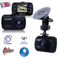"TOGUARD 1.5"" HD 1080P Car DVR DashCam Dashboard Camera G-Sensor IR Night Vision"