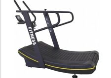 Curved Fitness Self Powered Treadmill