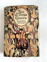Rare Aldous Huxley 1st US Edition, Two or Three Graces, 1926 Theodore Nadejen DJ