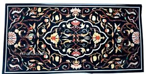 Marble Restaurant Table Top with Royal Pattern Dining table Size 30 x 60 Inches