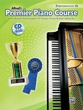 Premier Piano Course Performance, Bk 2B: Book & CD