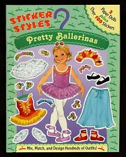 Pretty Ballerinas:  100 Stickers & 2 Paper Dolls  NEW  Free  S/H  Offer w/others