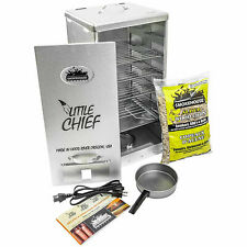 Smokehouse Little Chief Front Load Cooking BBQ Electric Wood Chip Smoker Grill