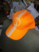 Stingray Hat Schwinn Orange Krate Orange w/white Baseball cap with metal tag