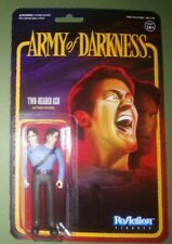 Army Of Darkness Two Headed Ash Funko Super7 Action Figure Evil Dead 3 rare moc