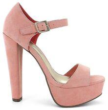 Platform Sandal 11 Open Toe*Ankle Strap*Pink DragQueen Crossdresser High Heels