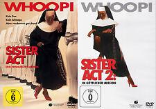 Sister Act 1 + 2 (Waco Goldberg-Harvey Keitel) | DVD | 077