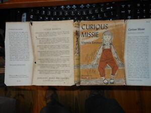 Curious Missie   By Virginia Sorensen   First Edition   Copyright 1953  with sli