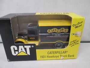 Ertl Caterpillar 1931 Hawkeye Truck Bank 1/34