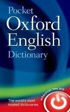 Pocket Oxford English Dictionary (2013, Hardcover)
