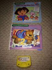 3pc Leap Frog Little Touch Set 2 Books+1 Cartridge (mismatched) Dora+One Bear