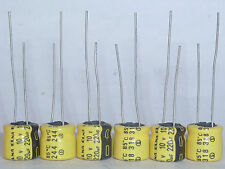 20pcs 10V220uF 10V Japan ELNA 8x7mm Audio Capacitor Yellow