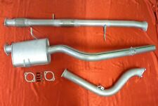 """3"""" Stainless Exhaust Kit suits Ford Courier PE PG PH 2.5L Ute 4x4 TD No Cat"""