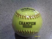 """New Wilson Champion Series A9306Asa-L0W 11"""" Softballs"""