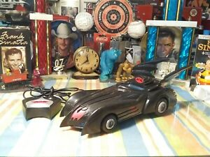 DC Comics 1997 Batmobile Remote control Car. Tested Works Perfectly.