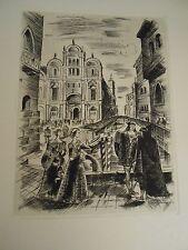 VOLPONE ou LE RENARD  de Ben Jonson - in-folio - 1/395 sur vélin-Jean Mohler EO.