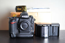 Nikon D3 Full Frame (FX) DSLR Pro Camera Body - US Model & Low Clicks!