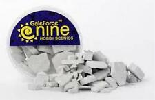 Concrete Rubble Mix Scatter Material Hobby Scenics Gale Force Nine GF9 GFS025