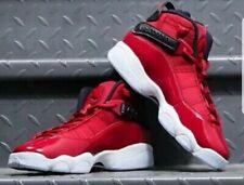 Nike Men's Jordan 6 Rings Gym Red Black White Size 8 Uk 42.5 Eu (322992-601)