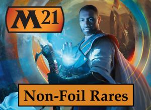 MTG Core Set 2021 (M21) NON-FOIL RARES Choose Your Cards NEW