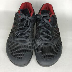 reebok crossfit cf74 Shoes Sneakers Men Size 7.5 Black/red Color