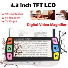 Eyoyo 4.3'' LCD Elektronisch Lupe Digital Magnifier Schlechte Sicht Reading Aids
