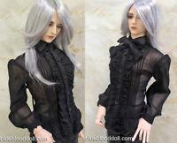 1//3 BJD 65-70cm thin boy doll clothes SD17 SSDFoutfit black shirt dollfie luts