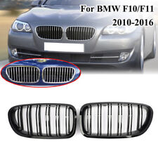 Painted 2010-2016 For BMW Sedan F10 F11 M5 Gloss Black Front Kidney Grille Grill
