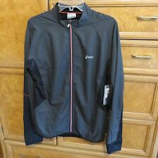 Men's Asics Running water/wind resistant jacket reflective size M new NWT $95