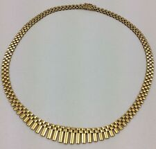 """18K YELLOW GOLD NECKLACE 17"""""""