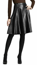 Women's Genuine Lambskin Leather Skirt New Hot Party Ladies Sexy mini - LHSK90