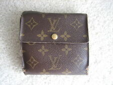 Louis Vuitton Monogram VERY USED Port Monet Bie Carte Credy Wallet Bifold Bag