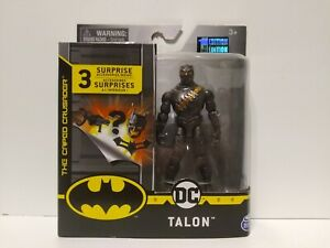 "DC Batman Universe 4"" Action Figure Talon SPIN MASTER 1st Edition New"