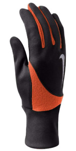 Nike Element Thermal 2.0 Running Gloves - Mens Small BLACK Touchscreen Athletic