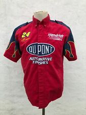 Vtg Nascar Jeff Gordon Chase Authentics Racing Button-up Shirt Jersey A-001