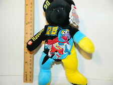 Ricky Rudd #28 Gonzo the great the Muppet show 25 yrs Rare Nascar Teddy Bear 8""