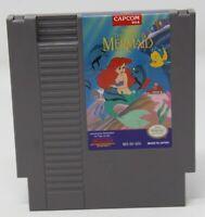Disney's The Little Mermaid Nintendo NES Video Game AUTHENTIC ORIGINAL WORKS!