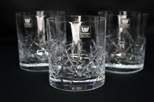Whiskey Crystal Glass set of 6 Vodka Water Old fashioned 10oz Bohemia  Czech