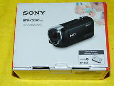 "Sony HDR-CX240 Blue HD Camcorder with 27x Optical Zoom, 2.7"" LCD + Micro 32GB"