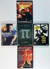 DVD Kultthriller BUBE,DAME,KÖNIG,GRAS/PI/RICOCHET/BOURNE/VOYAGE OF TERROR dt.