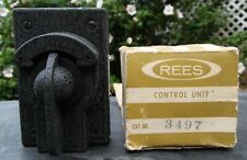 NOS Rees Rotary Contact Selector Switch 3 Position 2 pole 3497