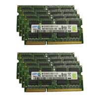 8GB 16G DDR3 1600MHz PC3L-12800S SO-DIMM Laptop Memory RAM 1.5V Per SAMSUNG LOT