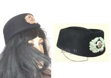 cold war East german DDR women hat cap for Uniform Transport Police - with badge